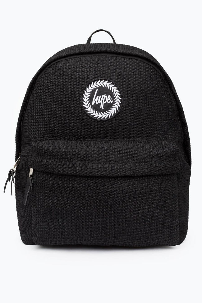 HYPE BLACK WEAVE BACKPACK