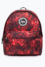 HYPE RED STIPPLE BACKPACK