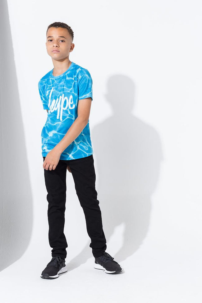 HYPE BLUE POOL KIDS T-SHIRT