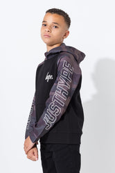 HYPE BLACK CAMO SPORTING KIDS PULLOVER HOODIE