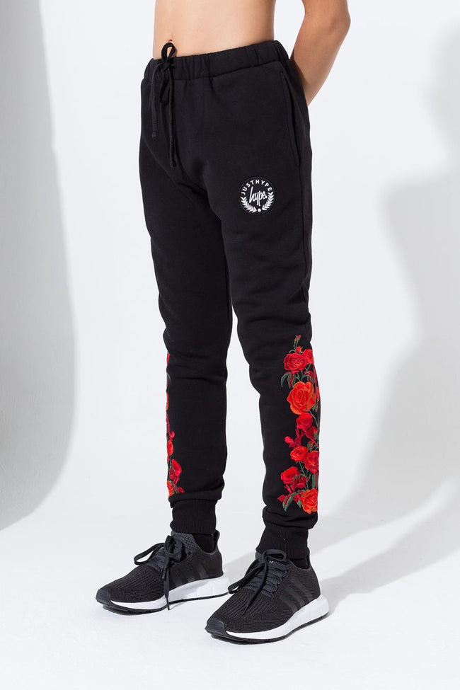 HYPE BLACK THORN KIDS JOGGERS
