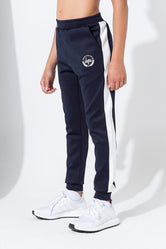 HYPE NAVY CREST TRACK KIDS JOGGERS