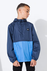 HYPE NAVY SPORTS SQUARE KIDS JACKET