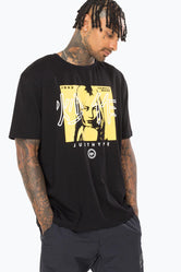 HYPE BLACK PIT GIRL BOXY MEN'S T-SHIRT