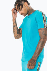 HYPE TEAL WARNING MEN'S T-SHIRT