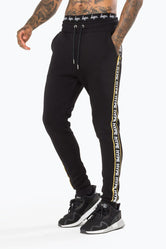 HYPE BLACK WARNING MEN'S JOGGERS