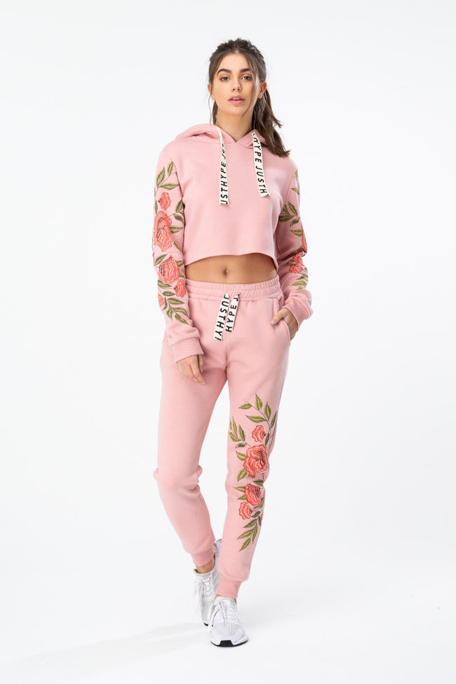 HYPE PINK FLORAL WOMEN'S JOGGERS