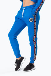 HYPE BLUE JUSTHYPE TAPE WOMEN'S JOGGERS