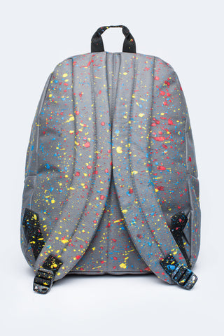 HYPE GREY PRIMARY SPLAT BACKPACK