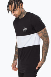 HYPE PANEL MEN'S DISHED T-SHIRT
