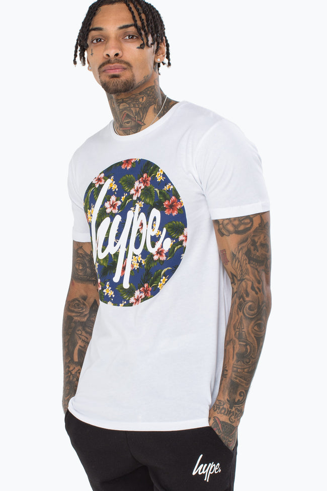 HYPE FLOWER CIRCLE MEN'S T-SHIRT