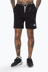 HYPE AOP SPECKLE MENS SHORTS