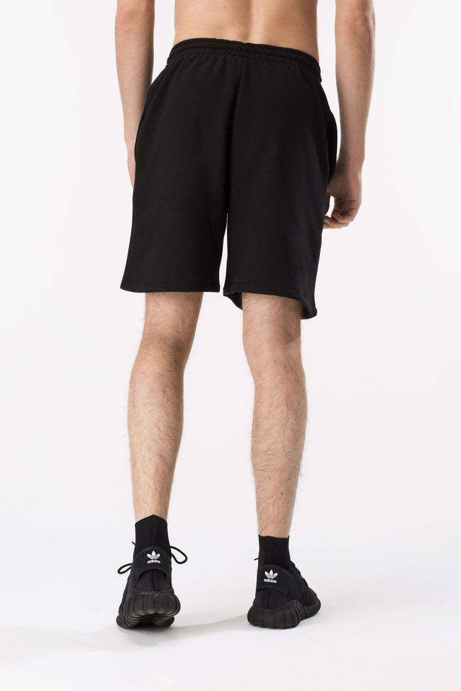 HYPE BLACK SCRIPT MEN'S SHORTS