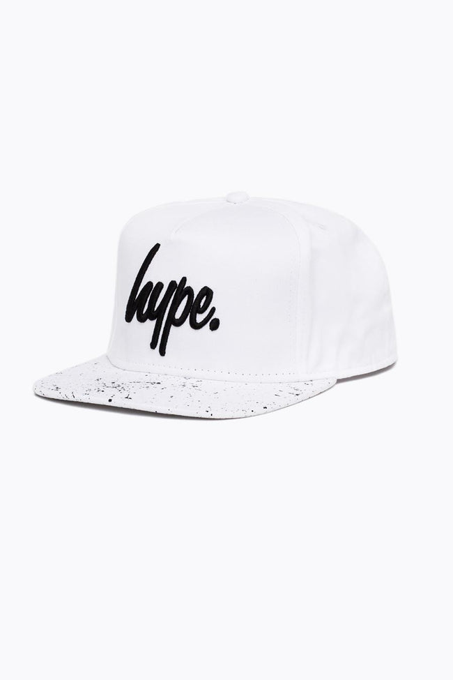 HYPE WHITE SPECKLE SNAPBACK
