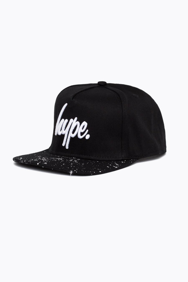 HYPE BLACK SPECKLE SNAPBACK