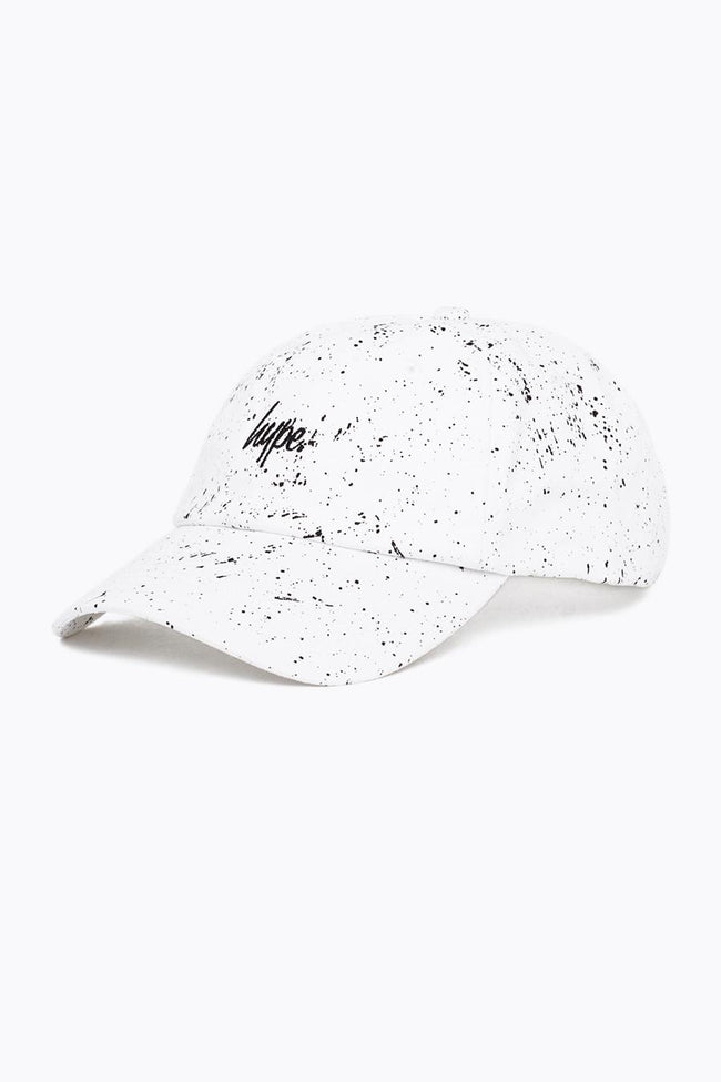 HYPE WHITE AOP SPECKLE DAD HAT