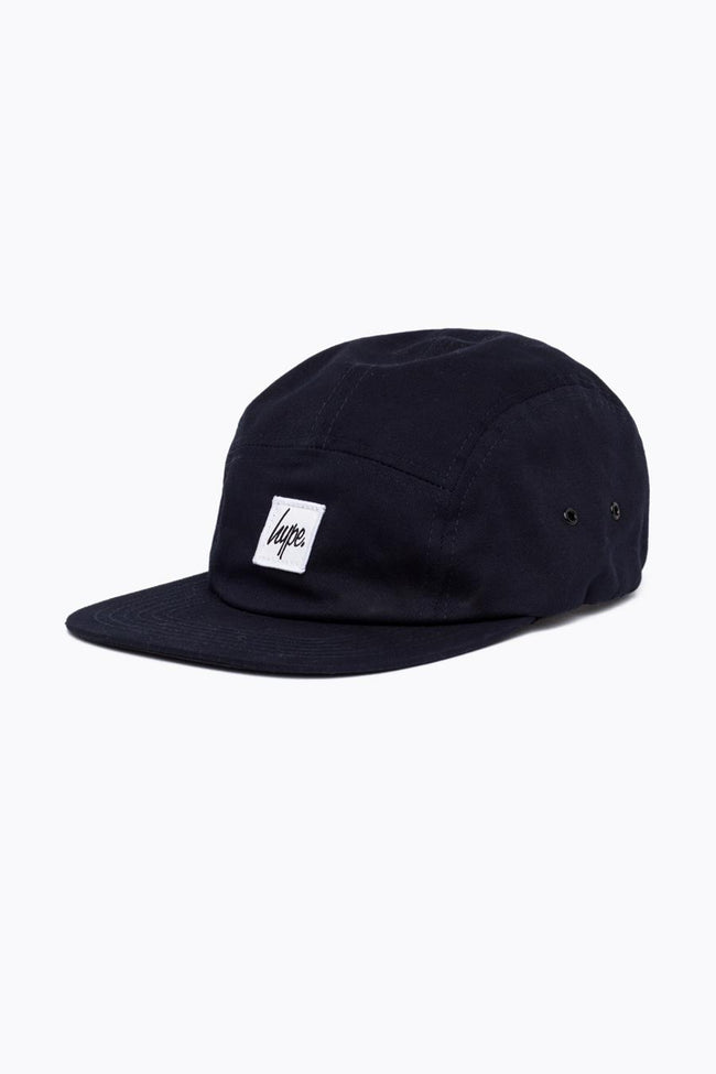 HYPE NAVY SCRIPT 5 PANEL HAT