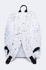 HYPE WHITE WITH BLACK SPECKLE BACKPACK
