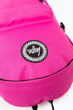 HYPE PINK BADGE BACKPACK