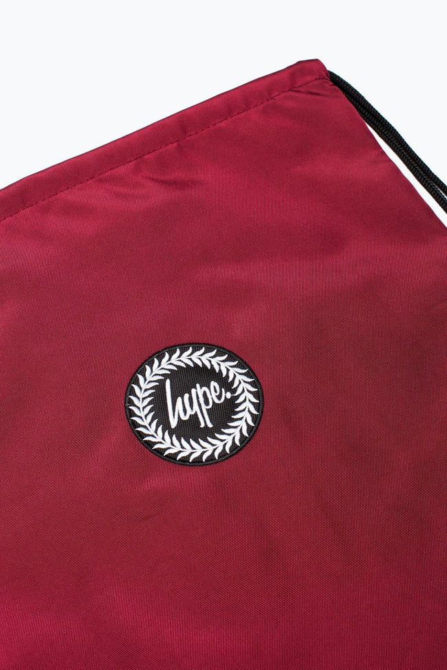 HYPE BURGUNDY CORE DRAWSTRING
