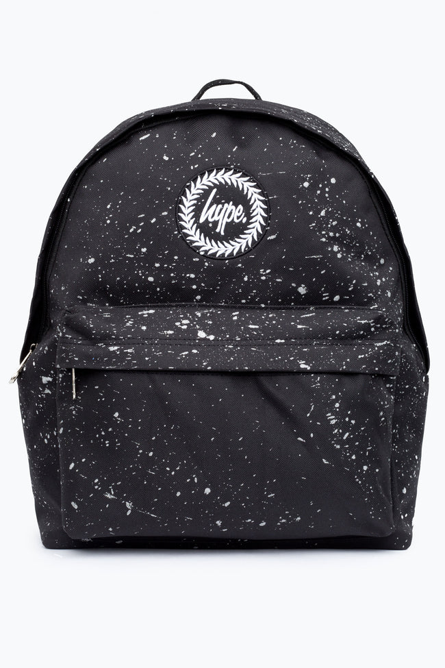 HYPE BLACK WITH SILVER SPECKLE BACKPACK