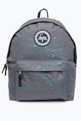 HYPE GREY WITH METALLIC BLUE SPECKLE BACKPACK