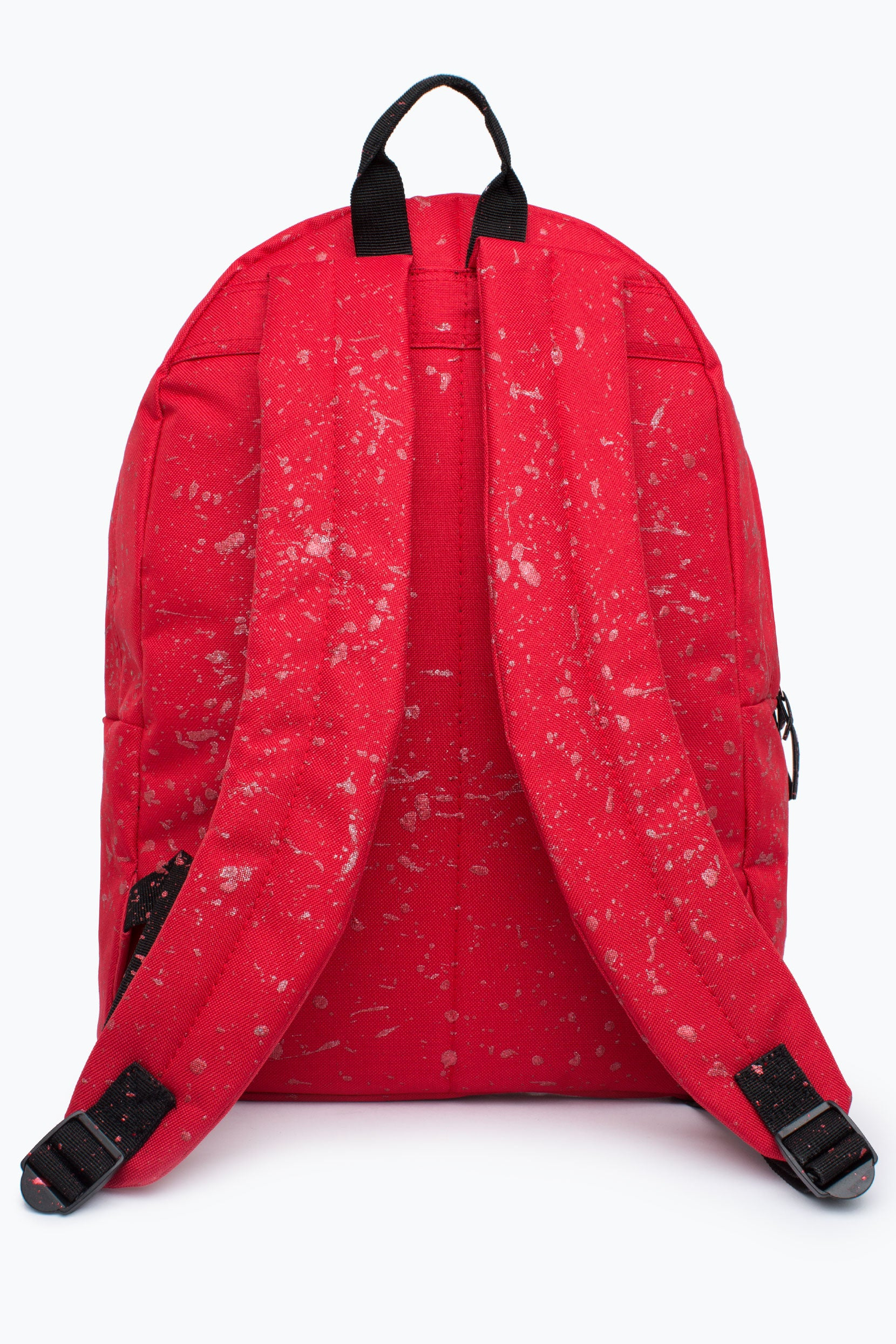 43077eccbbec HYPE RED WITH METALLIC RED SPECKLE BACKPACK – JustHype ltd