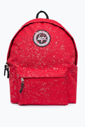 HYPE RED WITH METALLIC RED SPECKLE BACKPACK