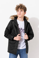 HYPE BLACK CLASSIC KIDS PARKA JACKET