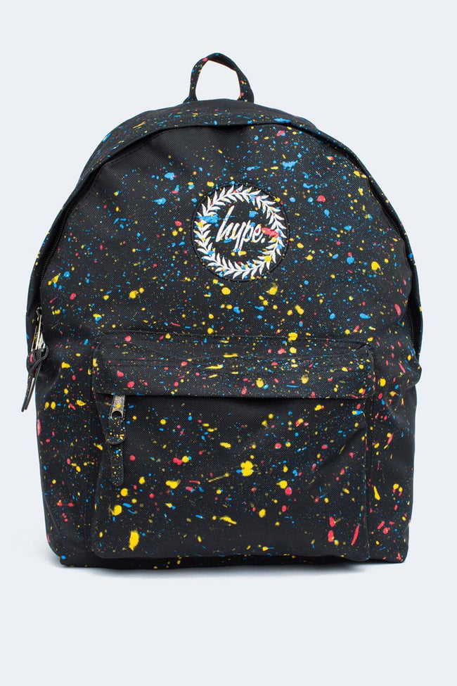 HYPE BLACK PRIMARY SPLAT BACKPACK