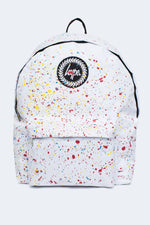 HYPE WHITE PRIMARY SPECKLE BACKPACK