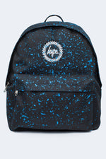 HYPE BLACK WITH BLUE SPECKLE BACKPACK