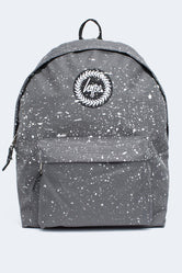 HYPE GREY WITH WHITE SPECKLE BACKPACK