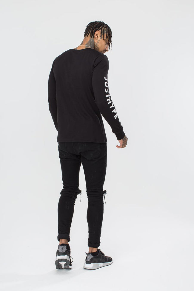 HYPE JUSTHYPE MEN'S L/S T-SHIRT