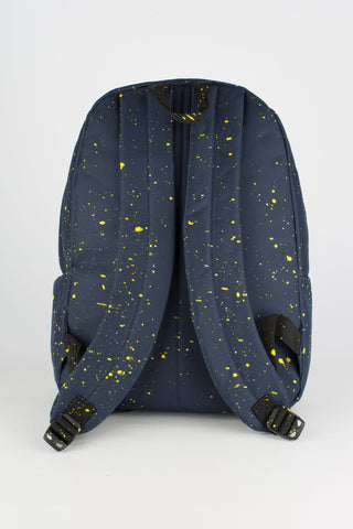 HYPE NAVY WITH YELLOW SPECKLE BACKPACK