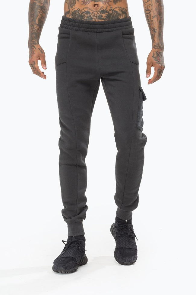 HYPE CHARCOAL INSIGNIA LOOP PANEL MEN'S JOGGERS