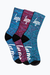 HYPE SPACE GIFT BOX KIDS CREW SOCKS 3X PACK