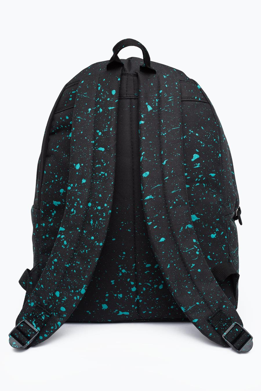 d5368b760e33 HYPE BLACK WITH MINT SPECKLE BACKPACK – JustHype ltd