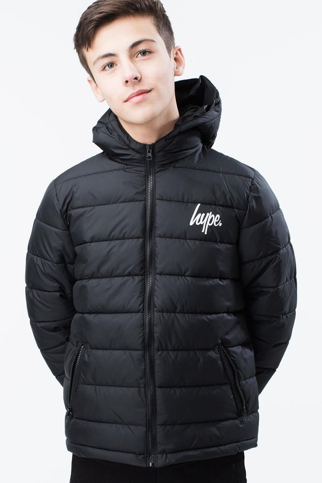 HYPE BLACK CORE KIDS PUFFA JACKET