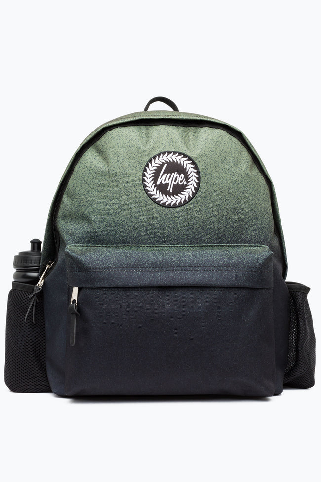 HYPE KHAKI SPECKLE FADE BOTTLE BACKPACK
