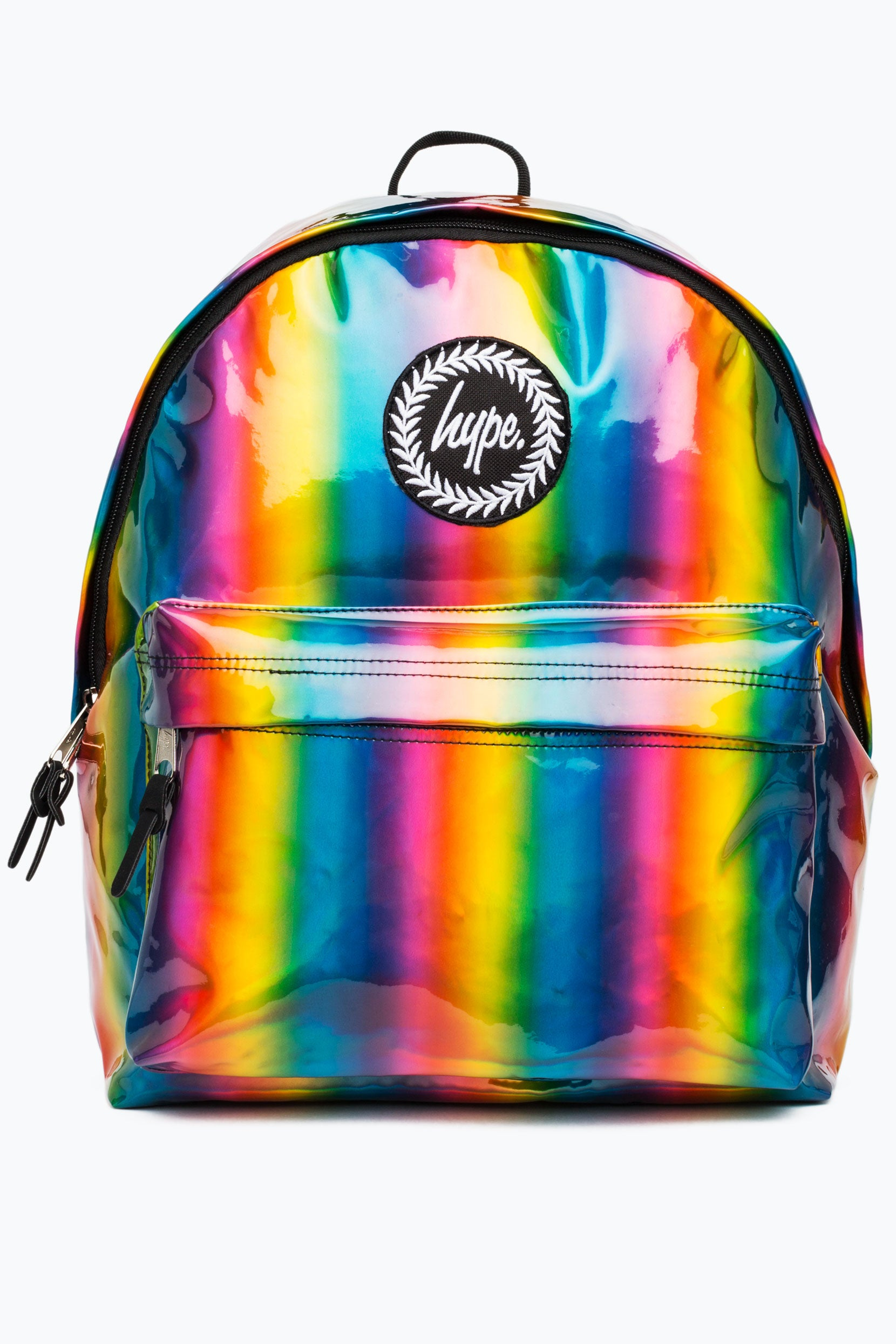 12f840f1911d HYPE RAINBOW HOLOGRAPHIC BACKPACK – JustHype ltd