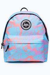 HYPE BLUE PASTEL MARBLE BACKPACK