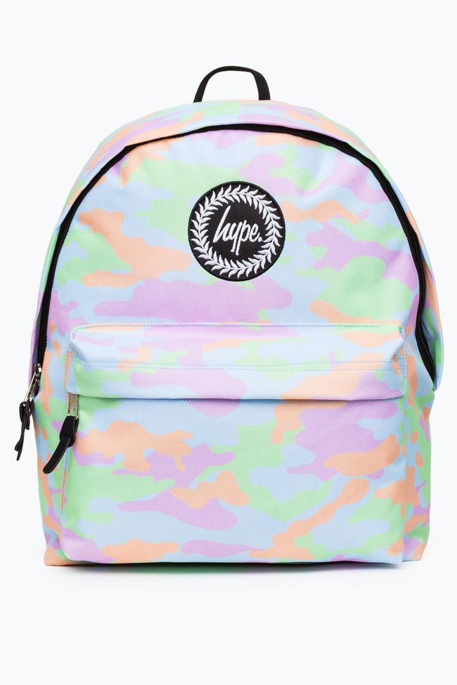 HYPE MULTI PASTEL CAMO BACKPACK