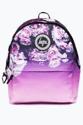 HYPE PURPLE ROSE FADE BACKPACK