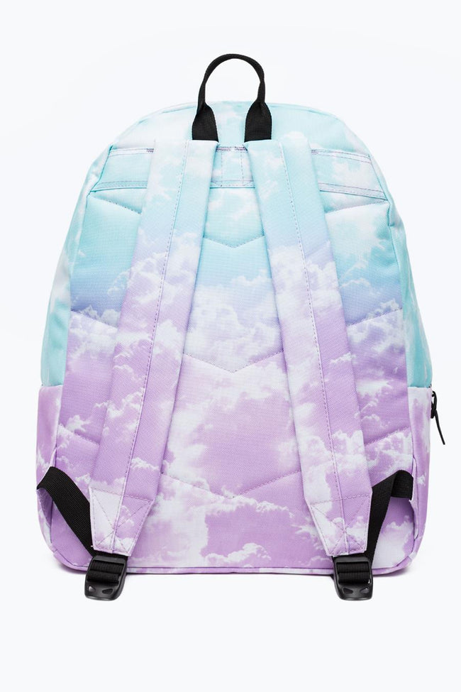 HYPE MULTI FADE CLOUDS POM POM BACKPACK