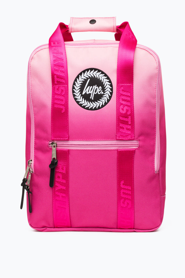 HYPE PEACH FADE BOXY BACKPACK