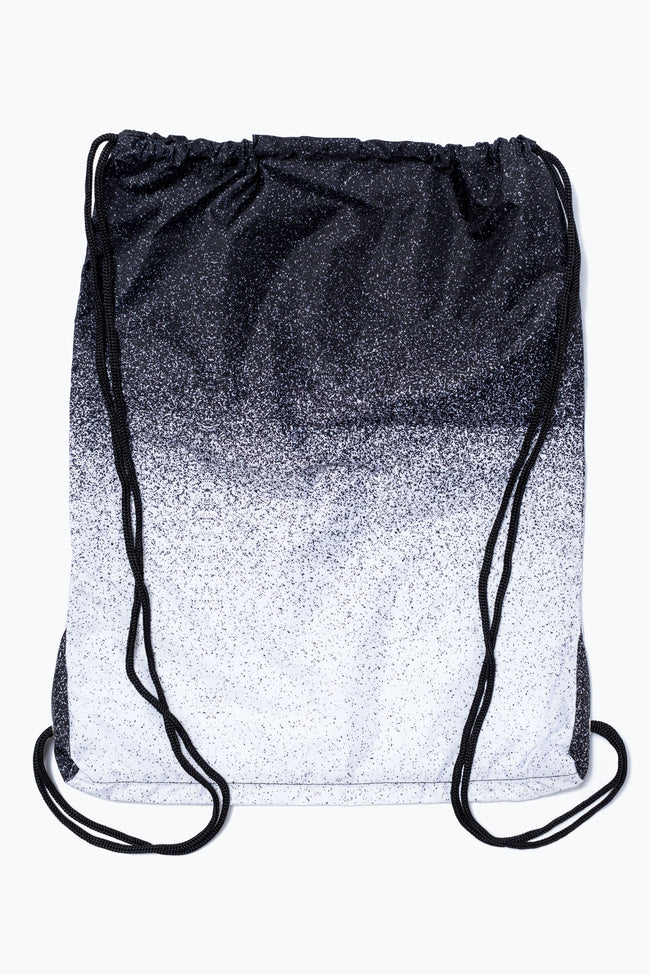 HYPE BLACK SPECKLE FADE DRAWSTRING