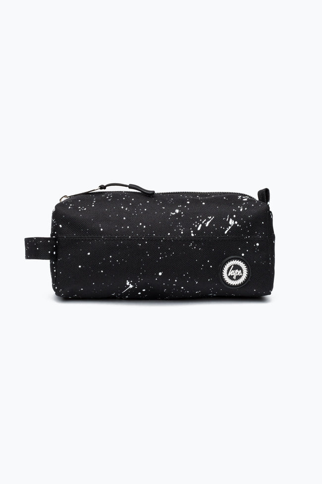 HYPE BLACK SPLAT PENCIL CASE
