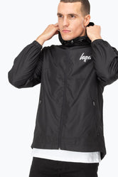 HYPE BLACK CORE MENS RUNNER JACKET
