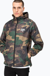 HYPE CAMO CORE MENS RUNNER JACKET